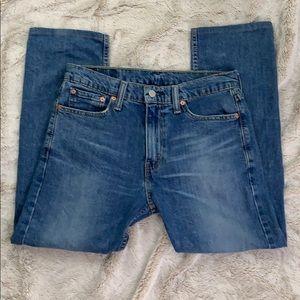 Levi's Mens 513 jeans straight 31x27